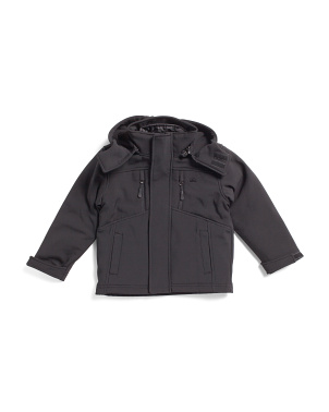 Little Boys Softshell System Jacket With Hood