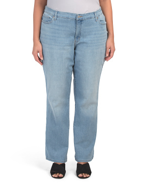 Plus Classic Straight Breezy Sea Jeans