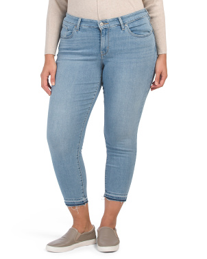 Plus 711 Skinny Ankle Cheap Trick Jeans