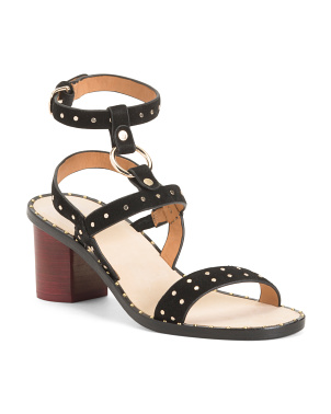 Suede Medalca City Sandals