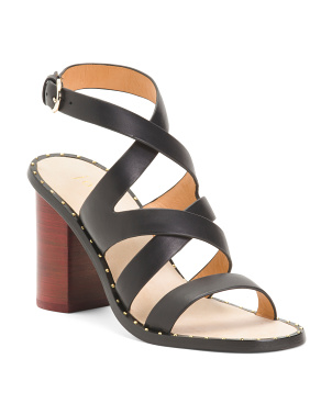 Onfer City Leather Sandals