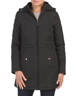Long Quilted Jacket