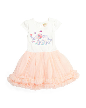 Girls Elephant Tutu Dress