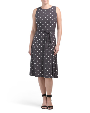 Flora Polka Dot Midi Dress