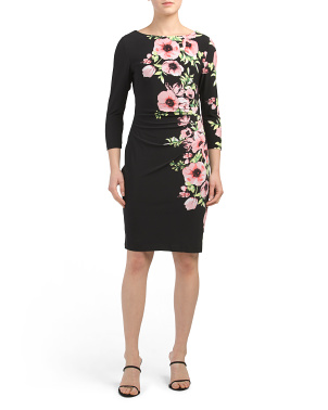 Floral Patricia Jersey Dress