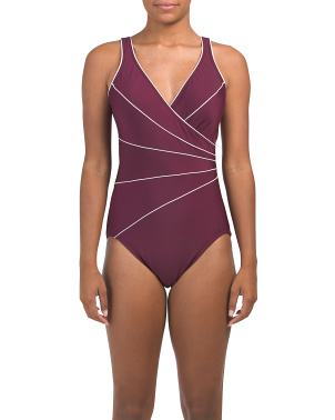 Tummy Control Horizon One-piece Swimsuit