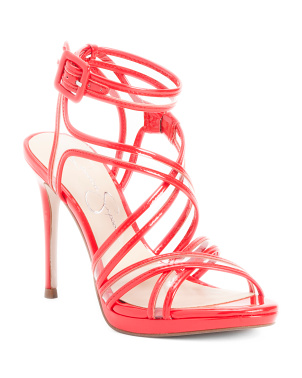 Patent Strappy High Heel Sandals