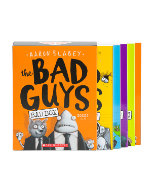 5pc The Bad Guys Box Set