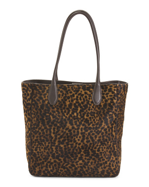 Made In Italy Haircalf Tote