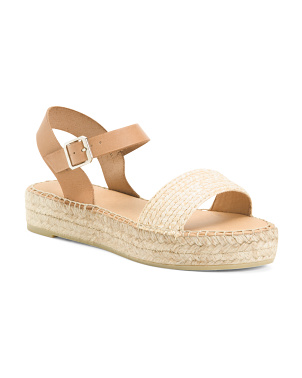Made In Spain Woven Espadrilles