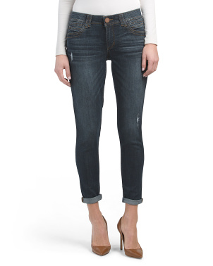 Ab Tech Cuffed Ankle Jeans