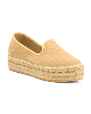 Closed Toe Espadrille Flats