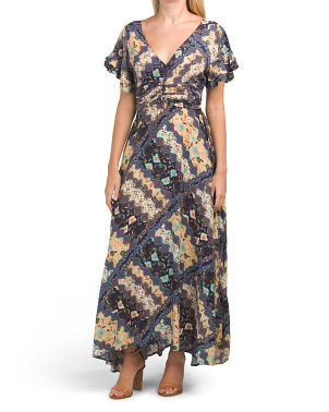 Juniors Australian Designed Gandi Maxi Dress