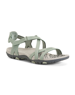 Leather Comfort Strappy River Sandals