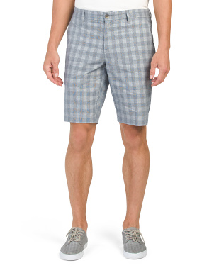 Checkerboard Dobby Shorts