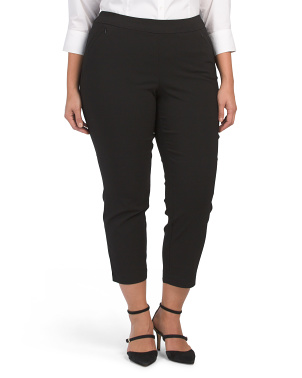 Plus Super Stretch Woven Pants