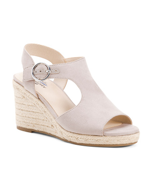 Wide Comfort Wedge Espadrilles