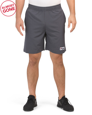 Woven Solid Shorts