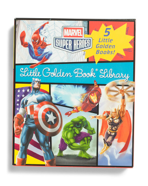 5pc Avengers Little Golden Book Set