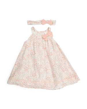 Toddler Girls Precious Floral Dress