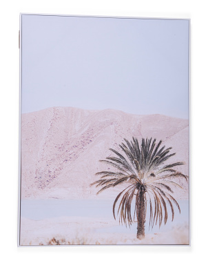 40x30 Blush Scenery Canvas Wall Art