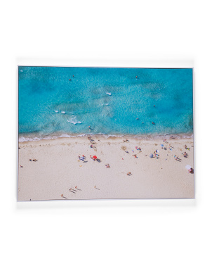 40x30 Ocean Front Canvas Hanging Wall Art