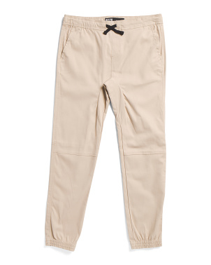 Big Boys Twill Jogger Pants