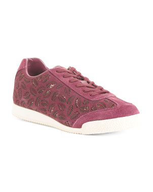 Contemporary Fashion Suede Sneakers