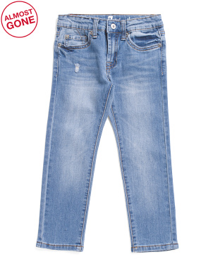 Little Boys Slimmy Stretch Denim Jeans