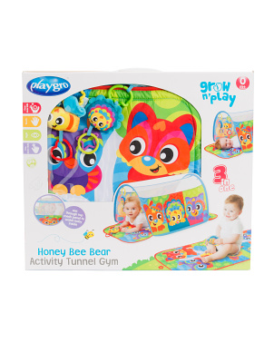 Honey Bee Bear Activity Tunnel Gym