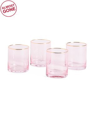Set Of 4 Vivenne Old Fashion Glasses