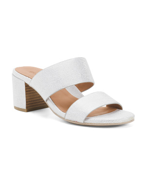 Comfort 2 Band Leather Sandals