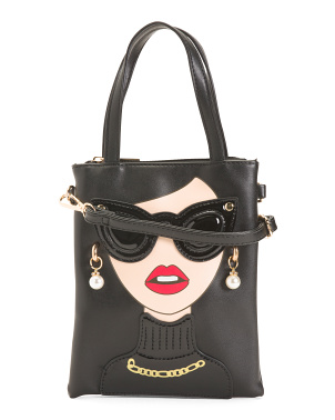 Sunglass Girl Crossbody