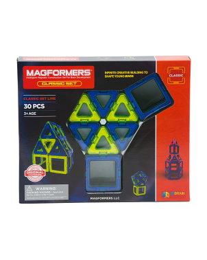 30pc Classic Magnetic Construction Set