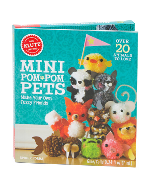 Mini Pom Pom Pets Book Kit