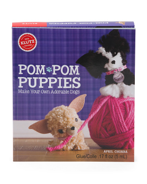 Pom Pom Puppies Book Kit