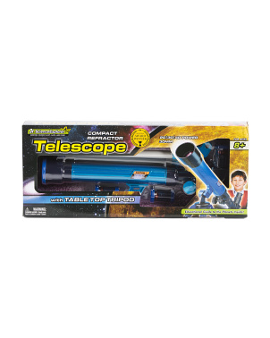 Jr Science Explorer Telescope With Table Top Tripod