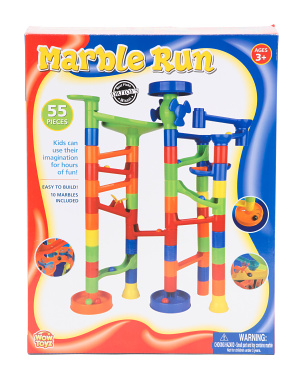 55pc Marble Run Playset
