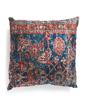 20x20 Printed Boho Pillow