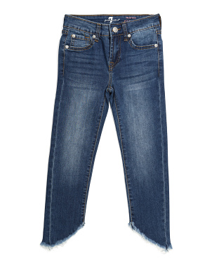 Big Girls Ankle Skinny Jeans