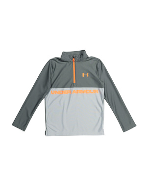Boys Tech Quarter Zip Top