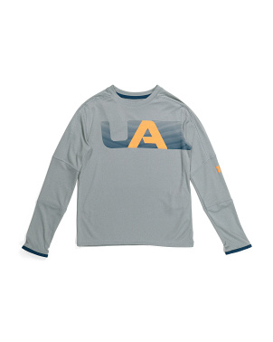 Boys Tech Long Sleeve Tee