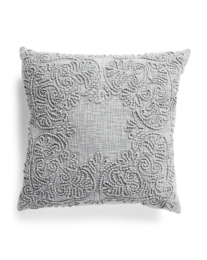 20x20 Washed Medllion Pillow