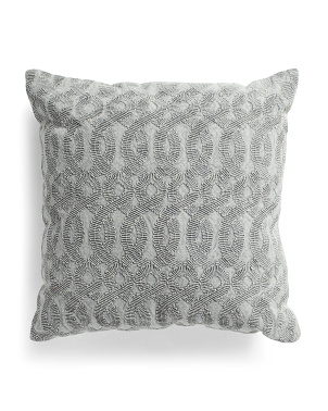 22x22 Geo Washed Pillow