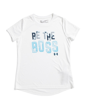 Girls Be The Boss Tee