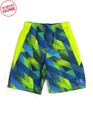 Boys Electric Field Volley Swim Shorts