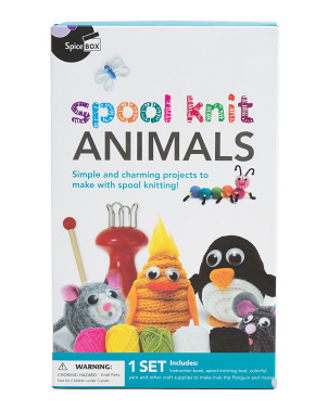 Spool Knit Animals Kit