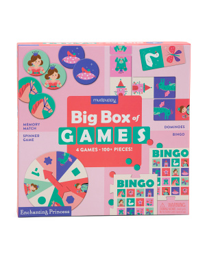 Enchanting Princess Big Box Of Games