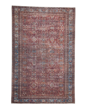 Made In Turkey 5x7 Boho Printed Flatweave Area Rug