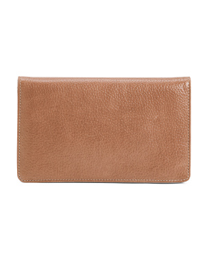 Leather Palmer Flap Front Wallet